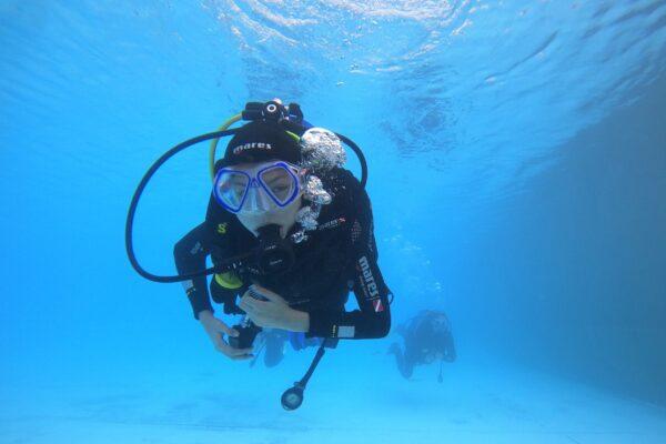 potápění opava